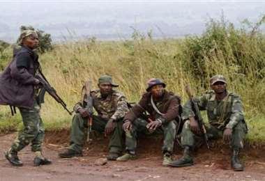 Militares del ejército congolés. Foto Internet