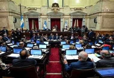 Foto de archivo del Senado argentino. Foto Internet