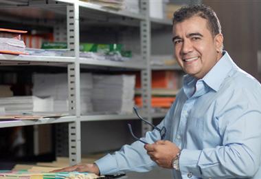 Alejandro Chileno es director general de la firma Terreno Urbanizaciones