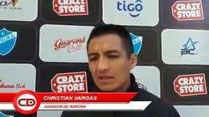 Christian Vargas, defensor de Aurora de  Cochabamba. Foto: internet