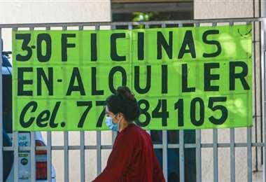 La pandemia del coronavirus afectó al negocio inmobiliario /Foto: Jorge Uechi