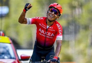 El colombiano Quintana fichó hace poco por el francés Arkea-Samsic
