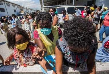 En Haití van a reabrir los colegios y universidades pese a la pandemia. Foto AFP