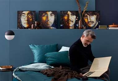 Los integrantes de The Beatles forman parte de la colección de armables