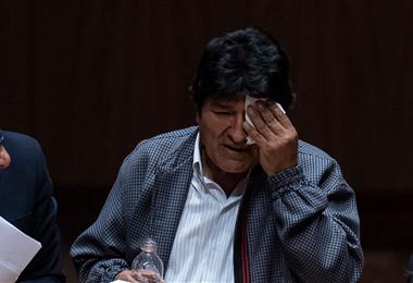 El expresidente Evo Morales. Archivo