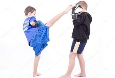 El kick boxing cuenta en Santa Cruz con 20 clubes. Foto: internet