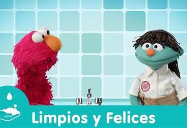 Los personajes de Plaza Sésamo ayudan a los niños a entender la cuarentena
