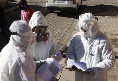 Aumentan los casos positivos de Covid-19 en Bolivia. Foto APG