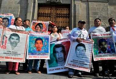Identifican restos de uno de los 43 desaparecidos en México