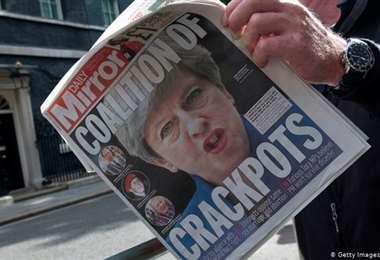 Uno de los diarios afectados por la reducción de personal. Foto AFP