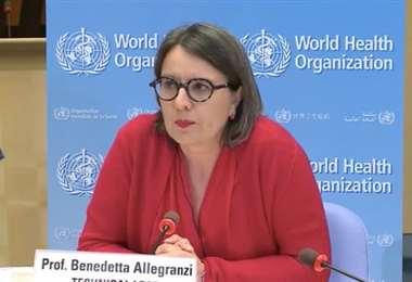 Benedetta Allegranzi, funcionaria de la OMS. Foto Internet