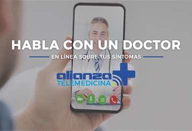 """Desde la aplicación """"Alianza Asistencia Móvil"""" los asegurados podrán agendar citas con doctores especializados"""