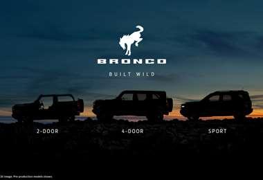 La nueva Bronco está basada en su totalidad en el modelo de 1966