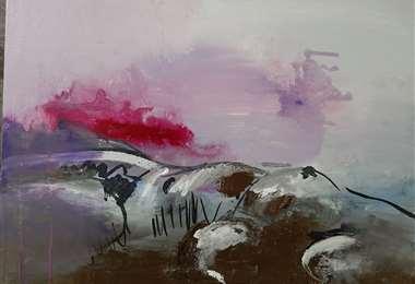 Pintura de la artista plástica Nicole Vera