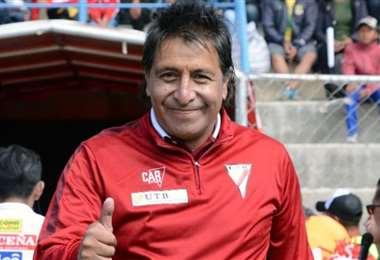 Roberto Ariñéz, entrenador de arqueros de Always Ready. Foto: Internet