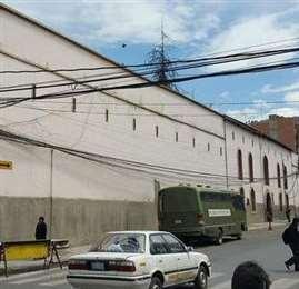 Cárcel de San Pedro en La Paz.