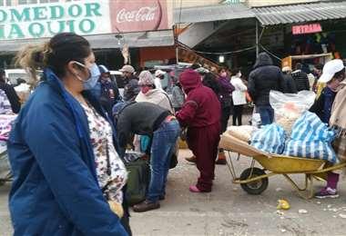 La Feria de Barrio Lindo abrió sus puertas hoy luego de casi cuatro meses. Foto: Fuad Landivar
