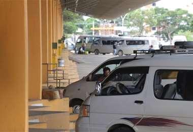 Imagen referencial del transporte interprovincial (Foto: Fuan Landívar)