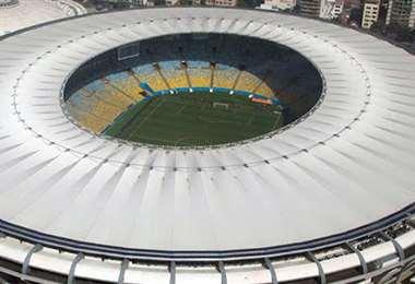 El Maracaná puede albergar cerca de 85.000 espectadores. Foto: Internet