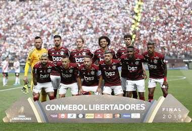 Flamengo es el último campeón del torneo brasileño de fútbol. Foto: internet