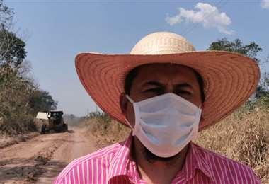 El alcalde de San Matías dio el reporte,mientras se realizaba un mantenimiento de caminos