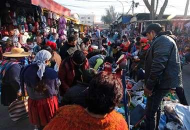 El mercado La Cancha en Cochabamba. Foto: APG Noticias