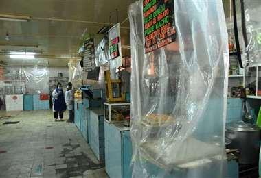 La Alcaldía prevé desinfección de mercados.
