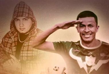 La portada de la canción con Hugo Rojas  y Miki J