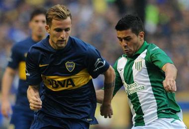 Nicolás Colazo estuvo en Boca entre 2008 y 2016