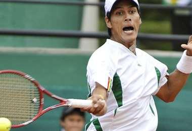 Federico Zeballos, tenista nacional que representa al país en torneos internacionales. Foto: internet