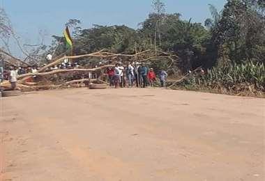 Puente San Pablo está 140 km al este de Trinidad