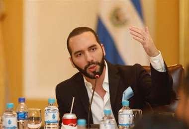 El mandatario salvadoreño. Foto Internet
