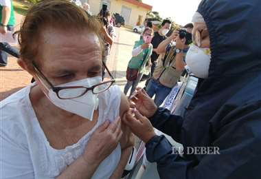 Campaña de vacunación en Centros de salud. Foto: H. Virgo