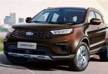 El modelo es un producto de la alianza Ford-Jiangling Motor Company (JMC)