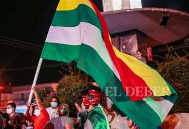 Grupos ciudadanos protestan (Foto: Jorge Uechi)
