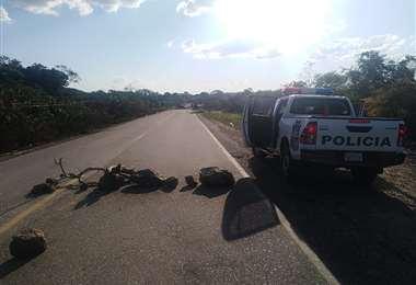 La Policía negoció con bloqueadores en El Puente
