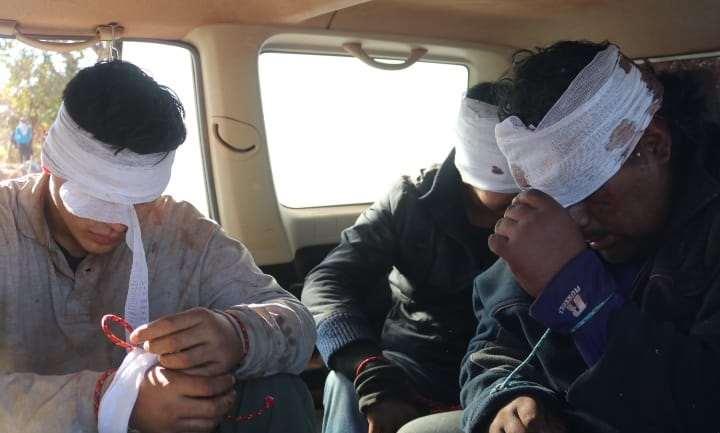 Los tres secuestrados por los bloqueadores fueron liberados en las últimas horas