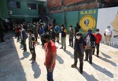 La mayoría de las arrestados fueron liberados en las últimas horas. Foto: Ipa Ibañez