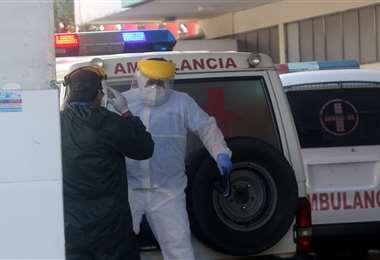 Aumentan los contagios en Santa Cruz. Foto Jorge Ibáñez