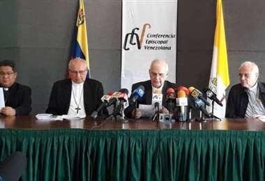 Cúpula de la Conferencia Episcopal de Venezuela. Foto Internet