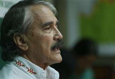 Joaquín Monasterio es desde hoy el nuevo secretario de Salud de la Gobernación cruceña. Foto: Jorge Uechi