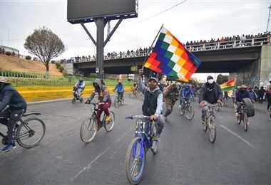 Las movilizaciones en El Alto I APG Noticias.