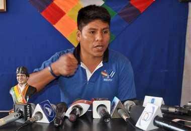 Leonardo Loza, dirigente cocalero del MAS.