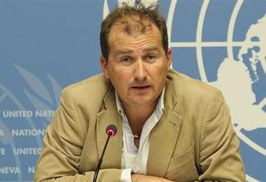 Tarik Jarasevic, portavoz de la OMS. Foto Internet