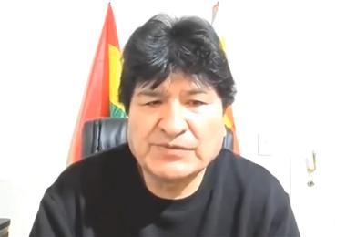 Evo Morales, expresidente del Estado