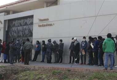 Premilitares aguardan cupo para el Colmilav