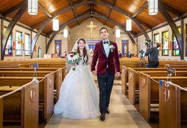 Ya están permitidas las celebraciones matrimoniales religiosas, los fines de semana y en la mañana