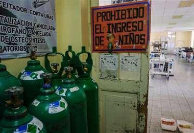 Ante la emergencia sanitaria, el oxígeno es una necesidad a escala nacional. Foto referencial (Página Siete)