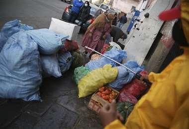 Productos en mercados de La Paz I APG Noticias.
