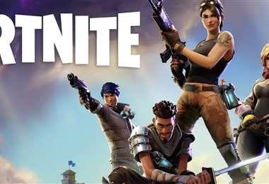 El videojuego Fortnite en guerra. Foto Internet
